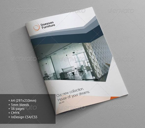 The 25+ best Furniture brochure ideas on Pinterest Direct mail - architecture brochure template