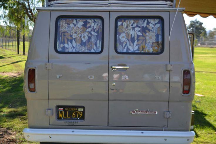 "1969 Ford ""SuperVan"" camper Ford van, Recreational"