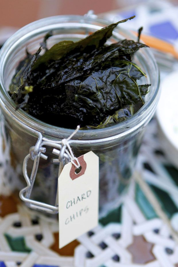 Swap your homemade kale chips for swiss chard chips! Swiss chard in this week's bounty. 07.11.12