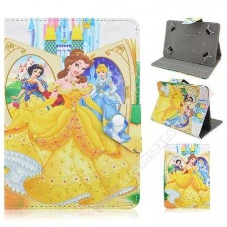 Funda universal para tablet 10 pulgadas Princesas Disney