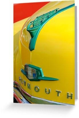 1950 plymouth mayflower sailing ship hood ornaments for Mayflower car shipping