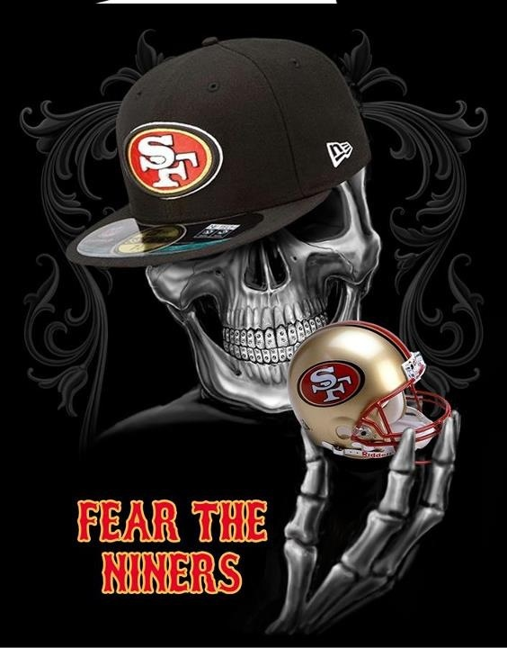 Will eat your ass alive.... Niner love