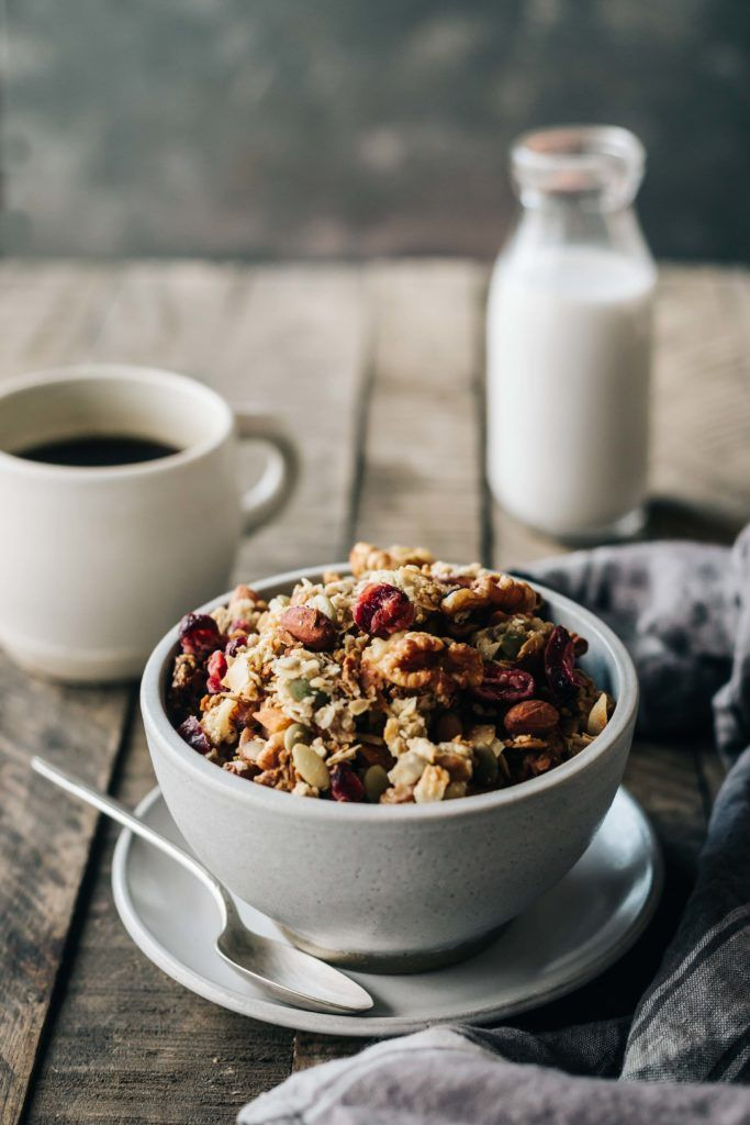 chai spiced granola - dishing up the dirt