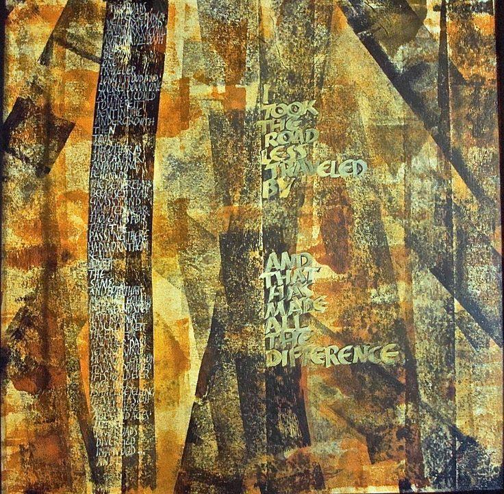 Sandra Wagner - Artist The Road Not Taken