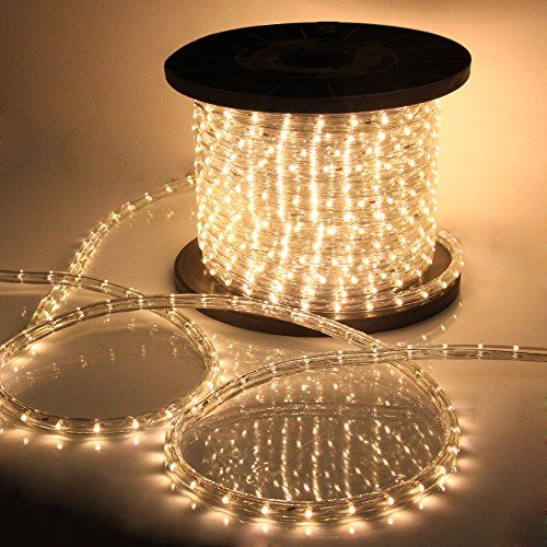 14 best led rope light images on pinterest rope lighting led rope vidagoods 150 led rope light 110v party home outdoor xmas lighting ip67 waterproof warm white aloadofball Gallery