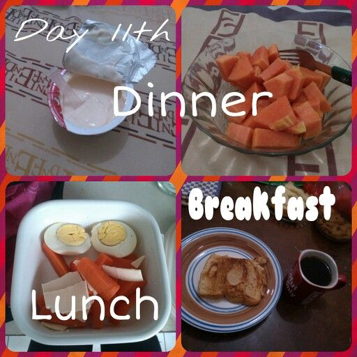 Diet Mayo day 11