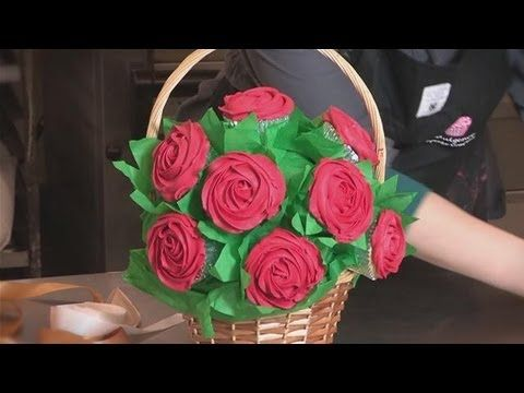 How To Make Cupcake Bouquets - or just one bouquet