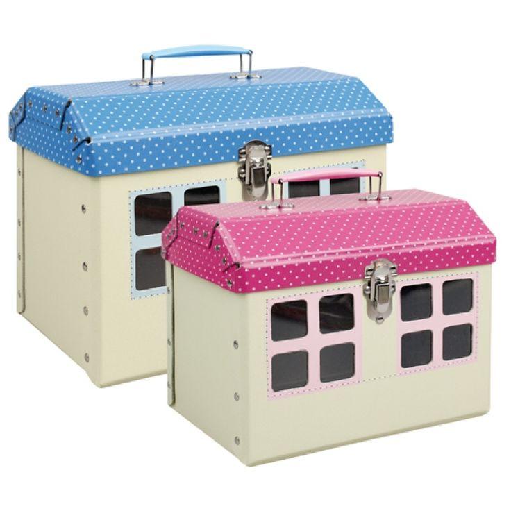 Domeček #Kazeto. Kufřík a hračka v jednom. Little house Kazeto. #Suitcase and toy in one.