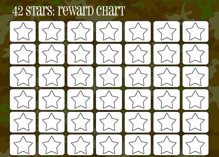 102 best Printable Reward Charts Template images on Pinterest