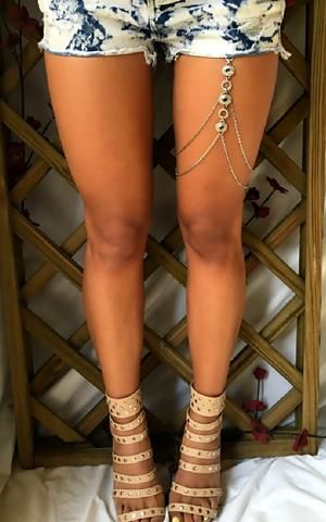 Leg Jewellery - Warrior - by Drizzle Jewellery