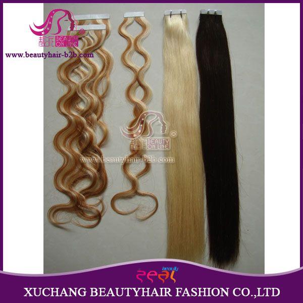 Extensões de cabelo de fita com boa qualidade recém-chegadas de venda por atacado http://www.beautyhairextension.pt/product/show-21-hair-extension-tape.html
