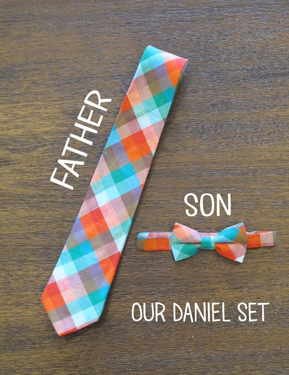 2 Toddler Bow Ties  1 Dad Tie by LittleAdamandEve on Etsy