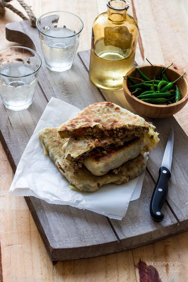 Mutabbak, murtabak, cocina Oriente Medio