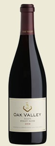 Oak Valley Pinot noir - one of my favourite New World Pinot noir examples from SA!