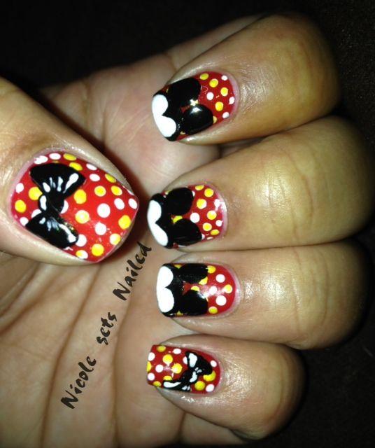 Mejores 18 imágenes de Nails en Pinterest | Ratones, Dedo anular y ...