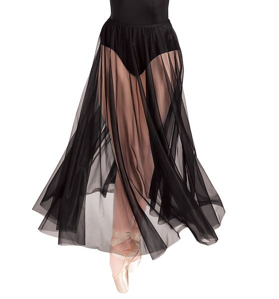 Body Wrappers Adult Chiffon Skirt (put over infinity dress to make it more flowy?)