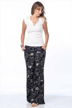 Mİ&SO - Siyah Pantolon 3106 sadece 24,99TL ile Trendyol da