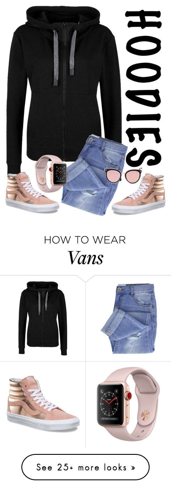 """""""Untitled #170"""" by caprice888 on Polyvore featuring Vans, Taya, Stephane + Christian and Hoodies"""
