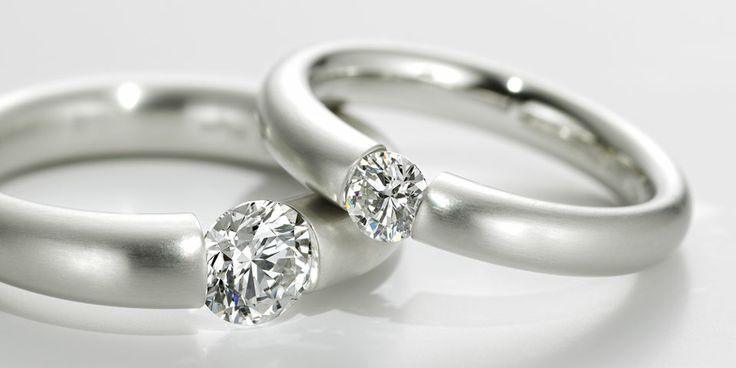 Niessing Spannring® Heaven – die schönste Art, sich zu verloben.