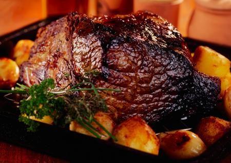 Juicy bottom roast