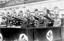 Philipp, Landgrave of Hesse - Philip of Hesse, second from right in the first row, in Kassel, 1933.