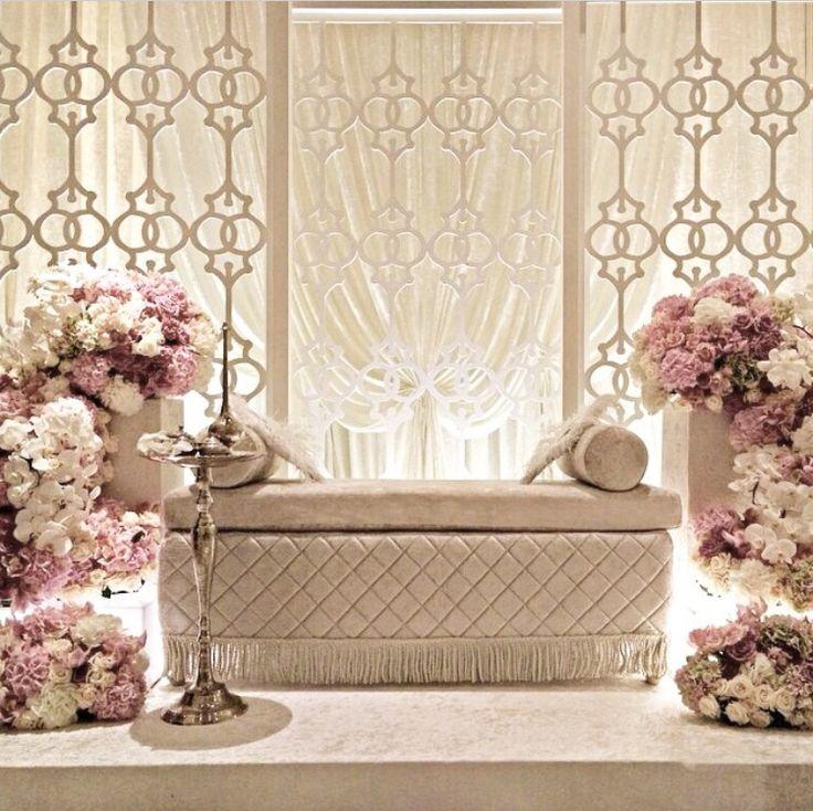 Wedding Nikah Simple Backdrop Decoration Muslim: Solemnization 27.08.2015