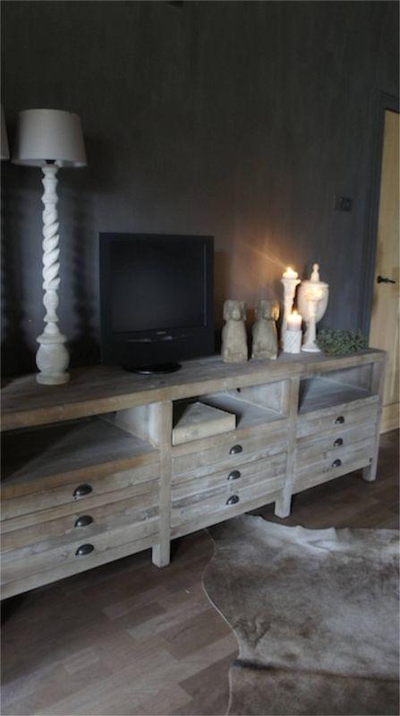 Oud houten tv kast 2054570   Nieuw Binnen   Herbers Lifestyle