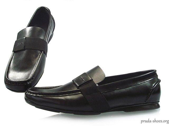 Black Prada Shoes Men