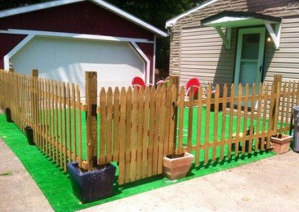 34 New Ideas For Apartment Patio Fence House House Apartment Diy Backyard Fence Apartment