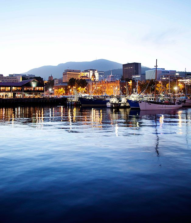 Australian Gourmet Traveller travel feature on the best of Hobart, Tasmania.