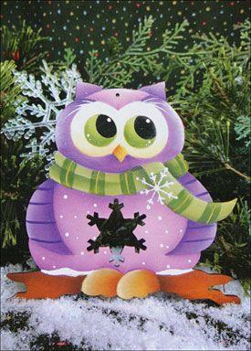 Renee Mullins owl