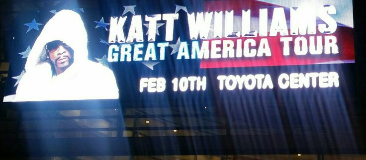 Katt Williams,  one of the great comedians performed @Toyota center Houston 2/10/17