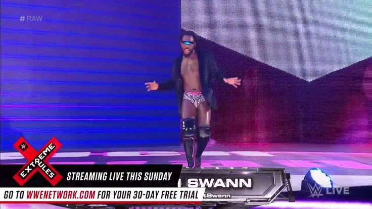 CAN YOU HANDLE THIS?!? Rich Swann has some BOSS company on WWE Raw tonight....