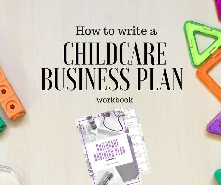 The  Best Daycare Business Plan Ideas On   Childcare