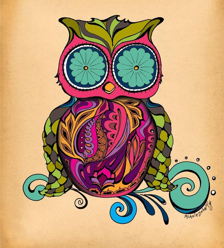 owl...hoot hoot