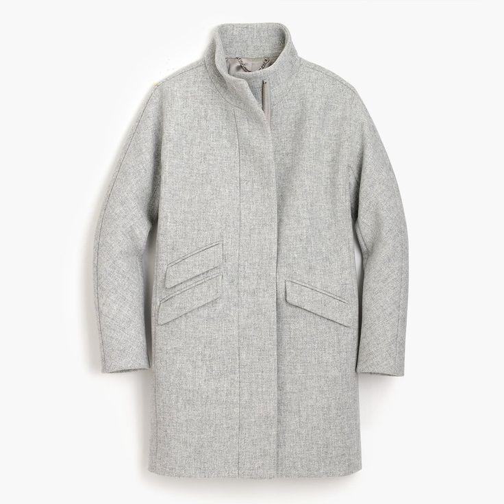 J.Crew Cocoon Coat in Italian Wool