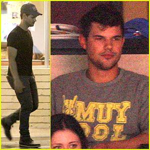 Taylor Lautner Satisfies Late Night Cravings at Norms.  http://www.justjared.com/2015/05/16/taylor-lautner-satisfies-late-night-cravings-at-norms/