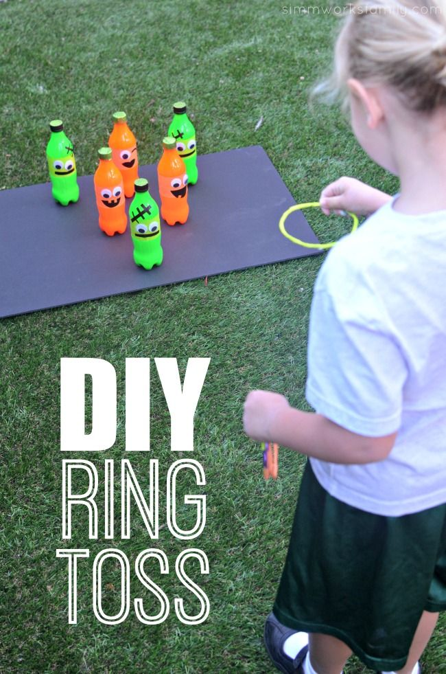 fall carnival games diy ring toss game idea - Halloween Games To Play At School