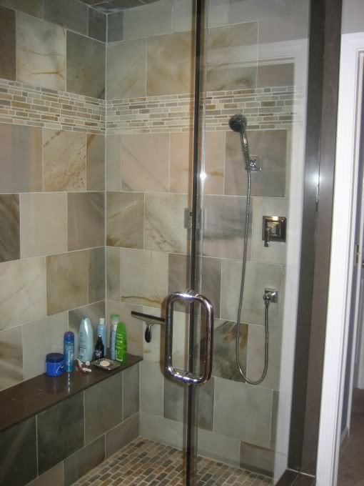 Master Bath With Just Shower 56 best bathroom tile ideas images on pinterest | bathroom ideas