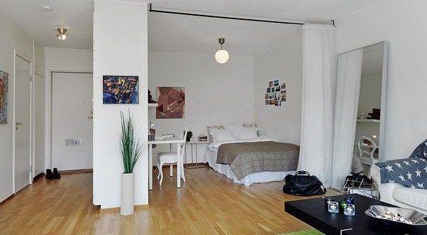 48+ Ein raum appartement einrichten ideen