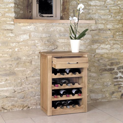 Solid Oak Wine Rack Lamp Table Mobel Oak Wine Rack Oak Furniture House Wine Bottle Storage