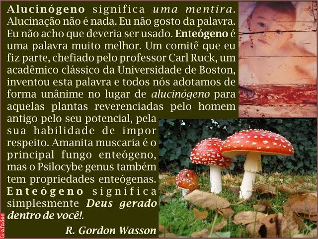 Grafados: R. Gordon Wasson - Sobre o termo Alucinógeno (About the term Hallucinogen) #Hallucinogen #cogumelo #amanita #muscaria #Deus #Soma #GordonWasson