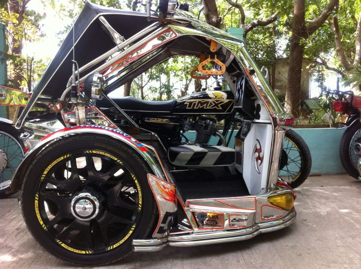 Tricycle of LAOAG City Philippines. Tricycle, Sidecar