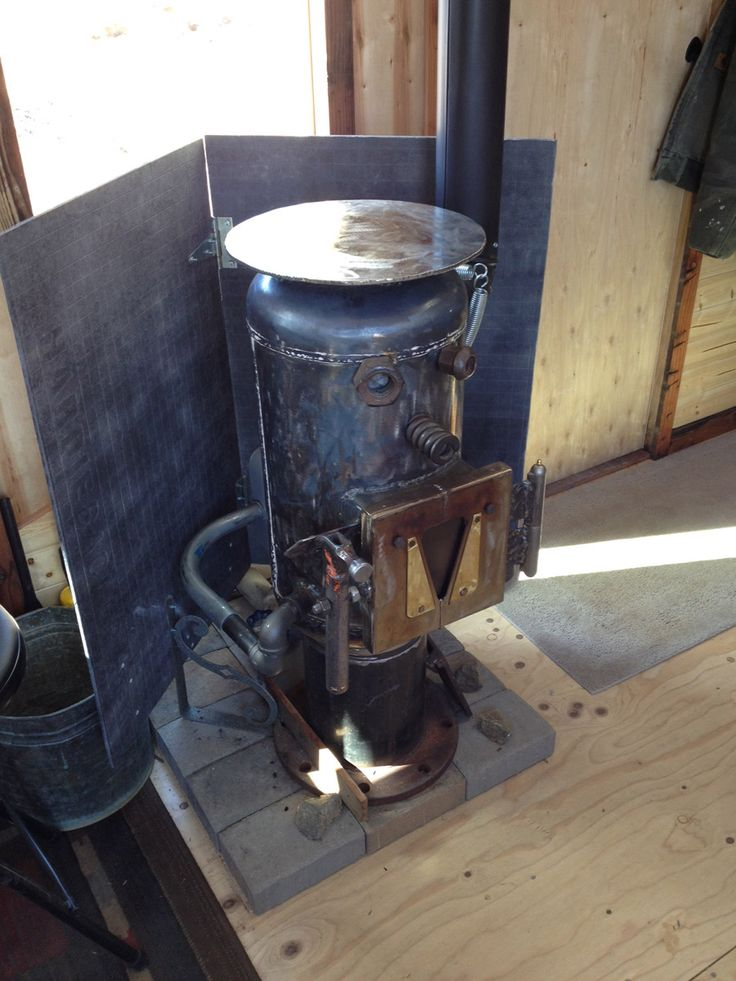 Homemade wood-burning stove? Tiny House ... - 114 Best Tiny Home Wood Stoves For Heat/Cooking. More On Truck