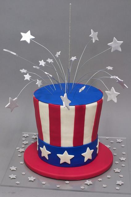 uncle sam's hat cake   Uncle Sam Hat Cake   Flickr - Photo Sharing!