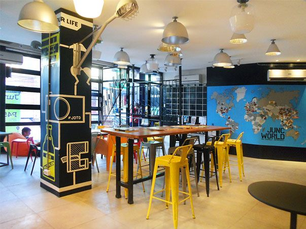 turista trails: Eat, Sleep, Rave and Repeat At Junction Hostels Makati