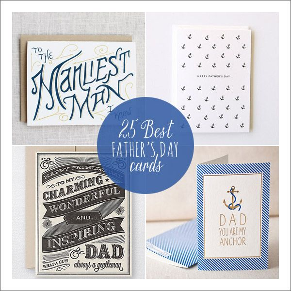 25 Best Fathers Day Cards
