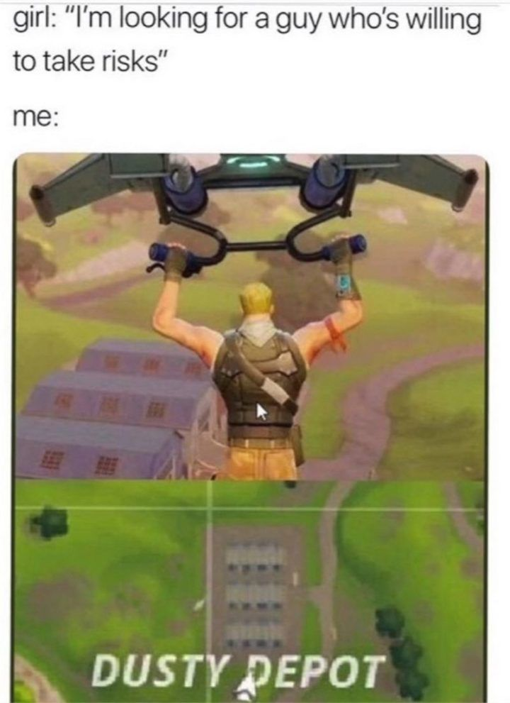 25 Fortnite Memes That Are Almost Good As Getting A Victory Royale Funny Memes Stupid Memes Memes