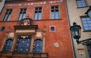Vieille façade à #Prague. #RépubliqueTchèque