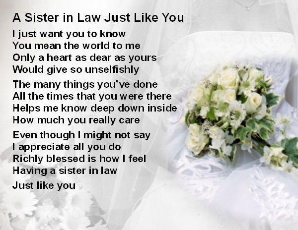Fridge Magnet Personalised Sister In Law Wedding